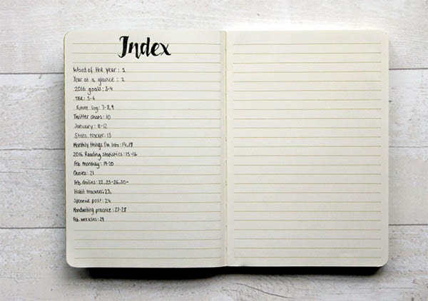 bullet-journal-index-esprit-freelance